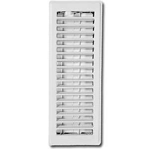 Imperial RG0223 3 x 10-inch White Painted Floor Vent