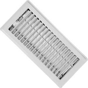 Imperial RG0247 4 x 10-inch White Painted Floor Vent