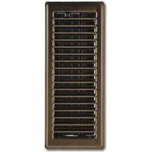 Imperial RG0201 3 x 10-inch Antique Brass Plated Floor Vent