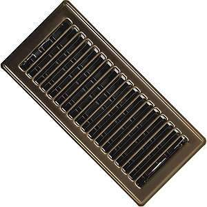 Imperial RG0225 4 x 10-inch Antique Brass Plated Floor Vent