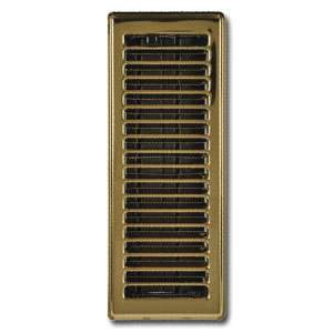 Imperial RG0208 3 x 10-inch Brass Plated Floor Vent