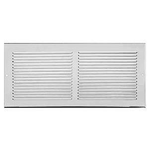 Imperial RG0033 6 x 14-inch Baseboard Return Air Grille (white)