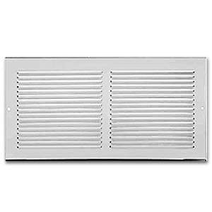 Imperial RG0385 6 x 12-inch Sidewall Grille (white)