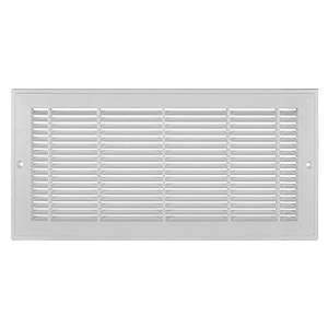 Imperial RG3010 6 x 12-inch Plastic Sidewall Grille (white)