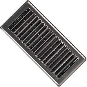 Imperial RG1995 4 x 10-inch Pewter Plated Floor Vent