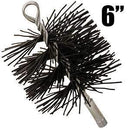 Imperial BR0077 6-inch Black Polypropylene Fiber Bristle Brush