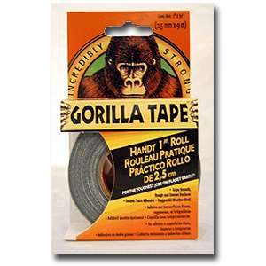 Gorilla Tape 1-inch x 30-ft Handy Duct Tape Roll