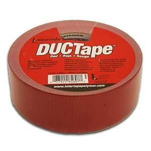 Intertape, DUCTape (Red)