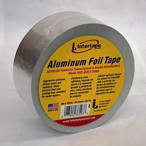 Intertape, Aluminum Foil Tape (50 yrd)