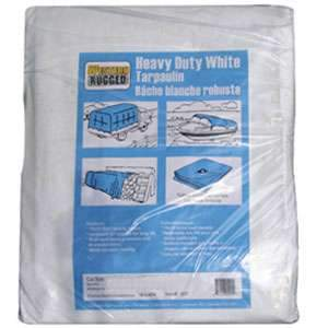 Western Rugged 10' x 20' White Tarp 6 Mil
