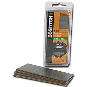 Bostitch 2'' 18-Gauge Brads 1000 pk, BT1350B