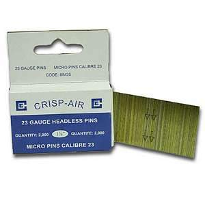 Crispo, 1-3/8'' 23 Gauge Headless Pins - 81M35