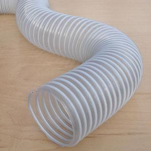 Dust Collection Hose 4in x 10ft HIghly Flexible 13022