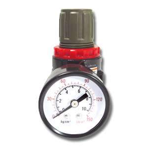 Samona 14005 1/4inch Air Regulator with Gauge