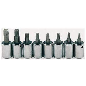 Gray Tools Torx Head 8-pc Socket Set 25708