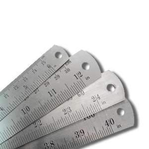 ROK, 28304 Stainless Steel Ruler 24 Inch 155568