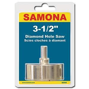 Samona 48365, 3-1/2'' Diamond Hole Saw (012679910)