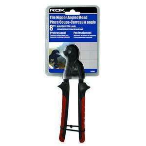 "ROK 56087 8""-inch Angled Head Professional Tile Nipper"
