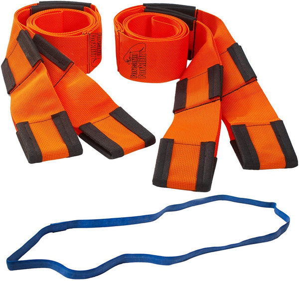 Forearm Forklift Lifting and Moving Straps, Orange, Model L74995CN