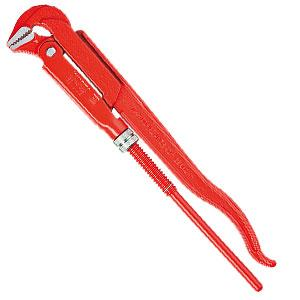 KNIPEX 83 10 015 90-Degree Swedish Pattern 16 1/2'' Pipe Wrench 15032