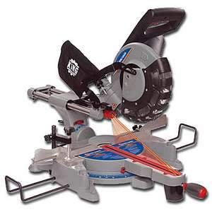 King, 8385N 10'' Sliding Dual Compound Miter Saw 16635