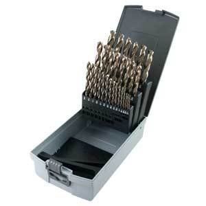 Gray Tools 29-pc Cobalt High Speed Steel Drill Bit Set