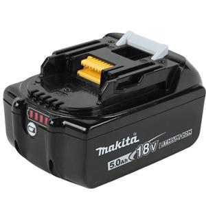 Makita BL1850B 18-Volt 5.0 Ah LXT Lithium-Ion Battery with Fuel Gauge