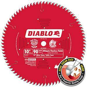 Freud Diablo D1090X 10-inch Ultimate Flawless Finish Circular Saw Blade