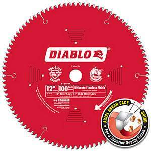 Freud Diablo D12100X 12-inch Saw Blade Ultimate Flawless Finish Circular Saw