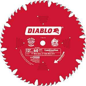 Freud Diablo D1260X 12-inch Combination Circular Saw Blade