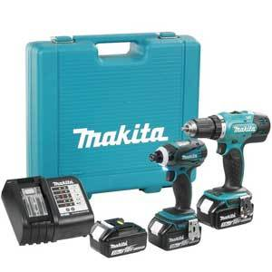 Makita DLX2141SX1 18 Volt Lithium-ion Cordless Combo Kit 3 Batteries