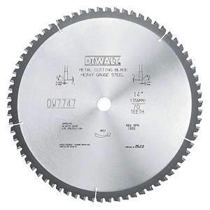 DeWalt DW7747 14-inch 70T Metal Cutting Saw Blade