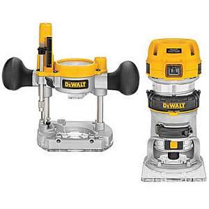 DeWalt DWP611PK 1.25hp Variable Speed Compact Router Deluxe Kit