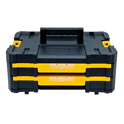 DeWalt TSTAK II Tool Case w/ 2 Pull-Out Drawers DWST17804