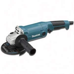 Makita GA5010 5inch Angle Grinder 10.5 Amp Locking Switch