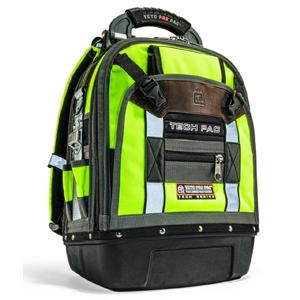 Veto Pro, TECH-PAC Hi-VIZ Yellow, Backpack Tech Pac Tool Bag 10227