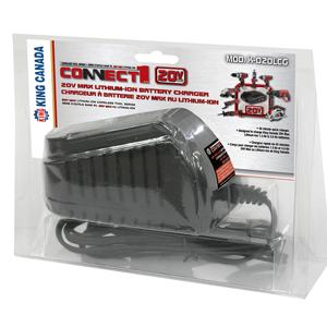 King, K-020LCG 20Volt Li ion Battery Charger
