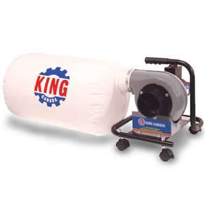 King, KC-1101C 590 CFM Mini Dust Collector
