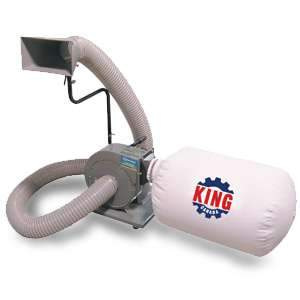 King, 600 CFM Dust Collector