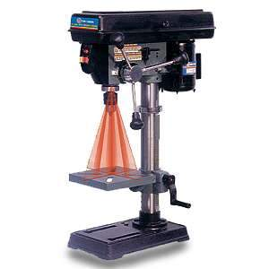 King, 10in Drill Press w/ Dual Laser Guide System Bench Top