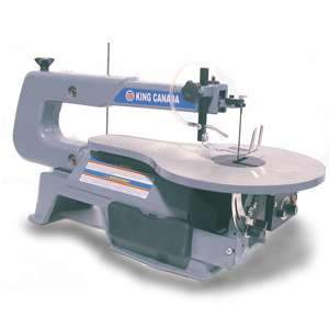 King, 16in Variable Speed Scroll Saw