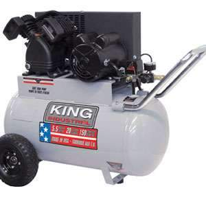 King 5-1/2 Peak HP 20 Gallon Air Compressor KC-2051H2