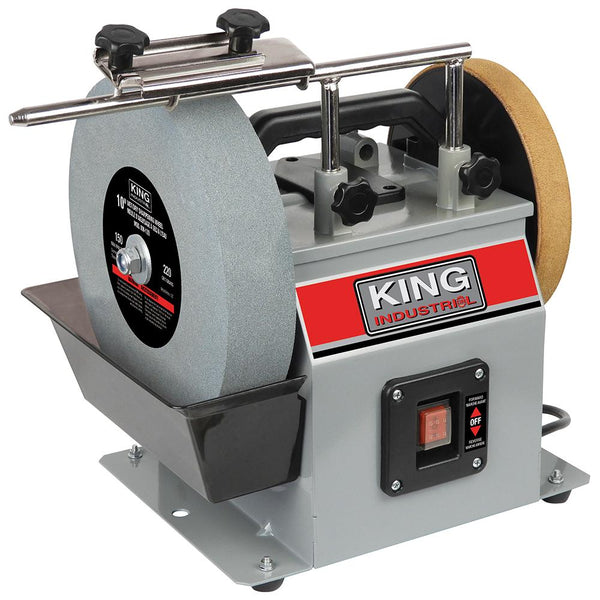 "King, KC-4900S  10"" Wet/Dry Sharpener 166634"