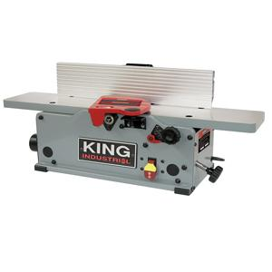 King, KC-6HJC 6'' Benchtop Jointer with Helical Cutterhead 16614