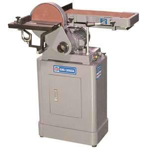 King, 6'' x 48'' Belt & 9'' Disc Sander KC-760L