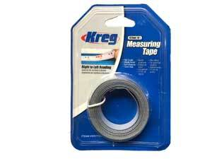 Kreg, KMS7723 12' R-L Self-Adhesive 1/2'' Measuring Tape 13654