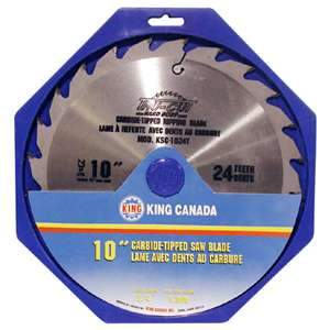 King, KSC-1024T 24 Tooth Ripping Carbide Tipped Saw Blade 16726
