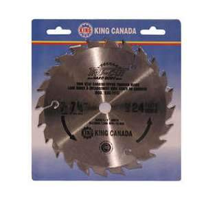 King, KSC-724T 7 1/4'' Carbide Tipped Thin Kerf Saw Blade 16731