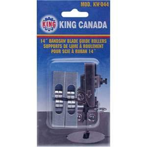 King, KW-044 Ball Bearing Bandsaw Blade Guide Roller Cool Block Replacement 14430
