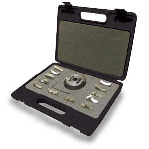 King, KW-091 3/4'' Universal Shaper Cutterhead w/13 Interchangeable Profile Cutter Sets 16746